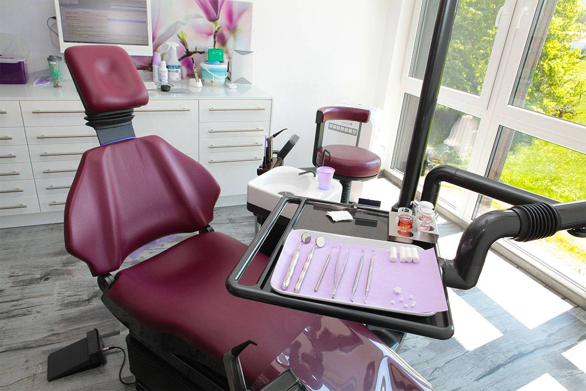 Zahnarztpraxis mit Herz